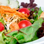 Salat einfaches vegetarisches Rezept